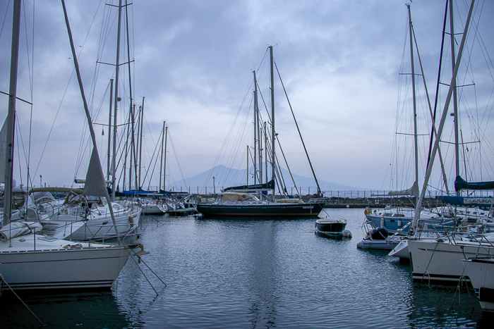 Naples, Italy, Vesuvius, Marina