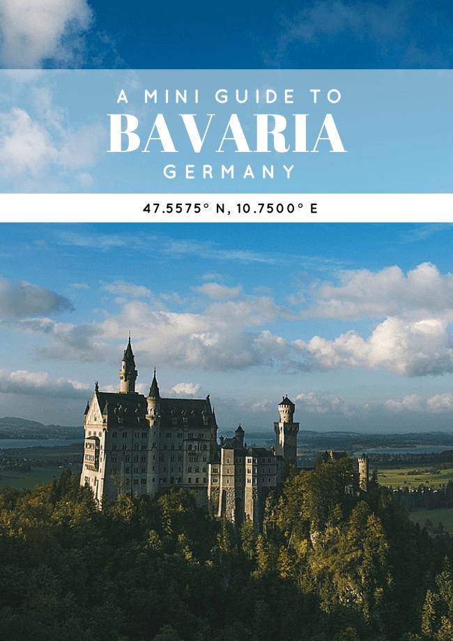 A Mini Guide to Bavaria, Germany