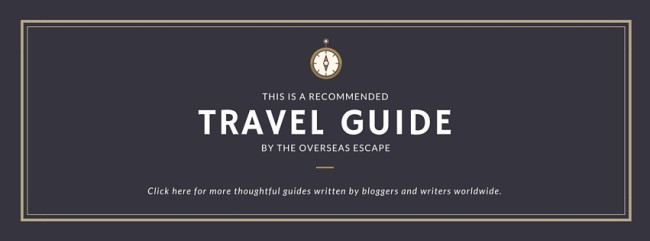 travel guide - The Overseas Escape