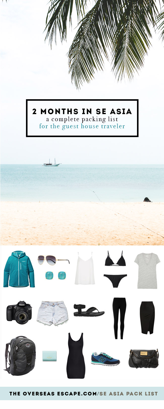 Southeast Asia Packing List