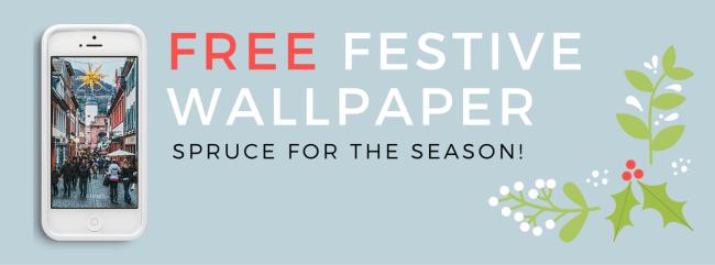Spruce Season - Holiday Wallpaper