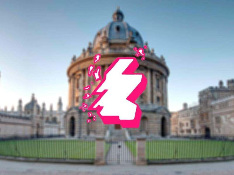 Image of Radcliffe Camera overlayed with Clydeside Project logo
