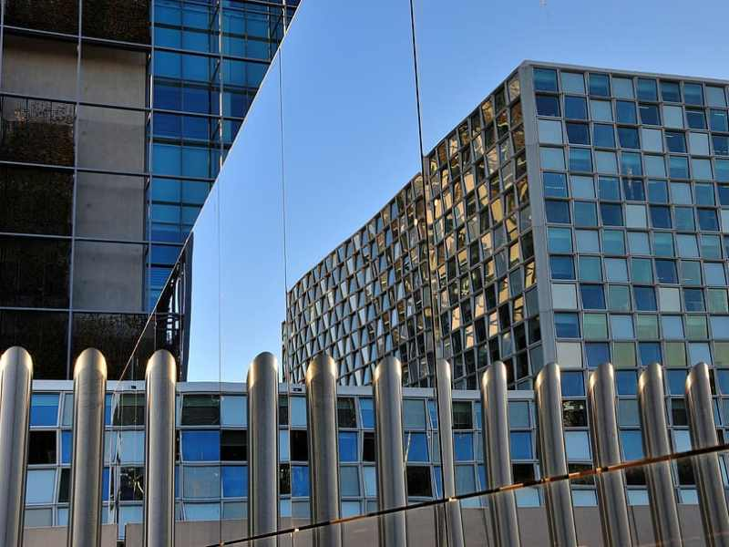 Image of International court of justice building in the hague