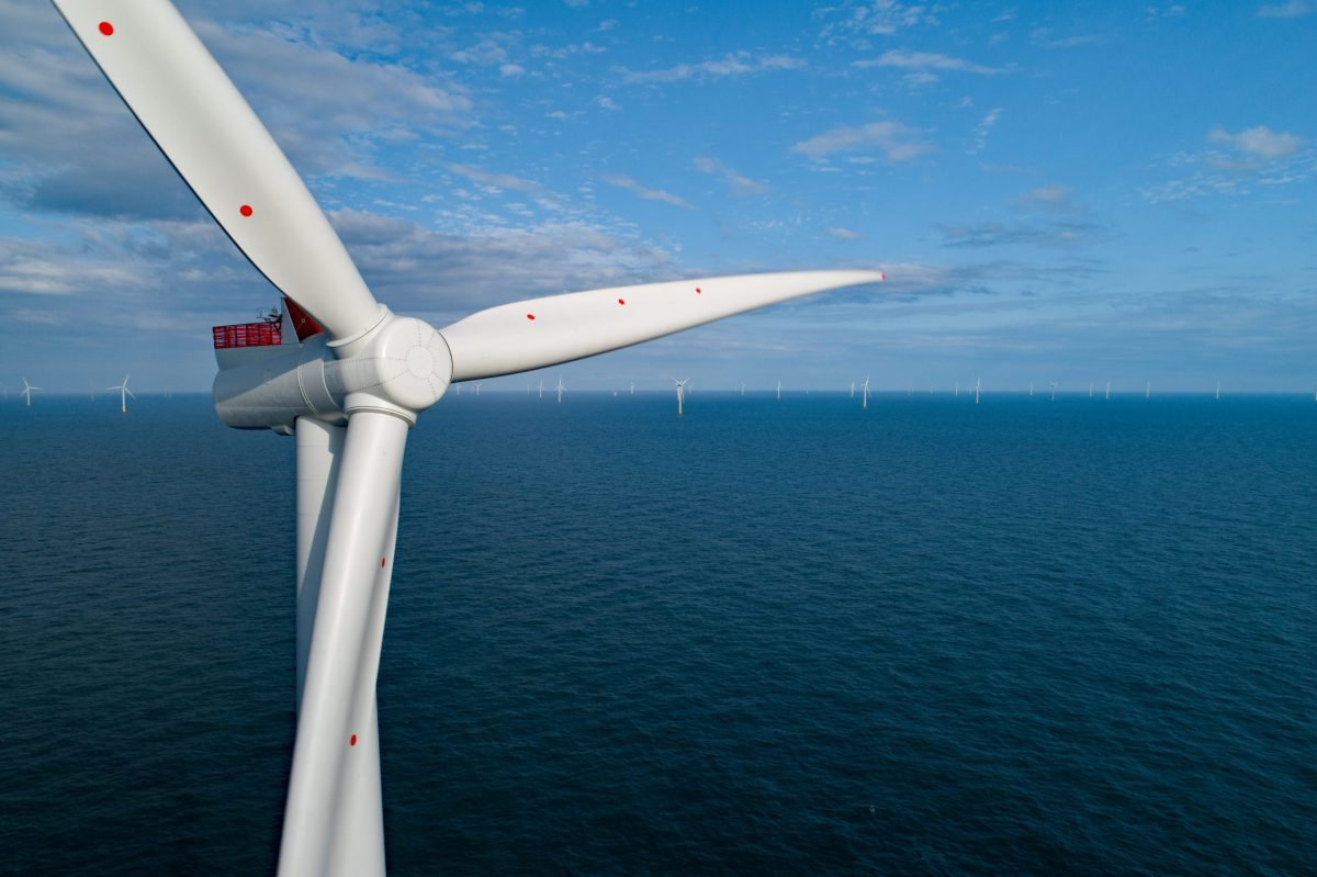 The UK broke previous wind-power records in 2020. Source: Orsted