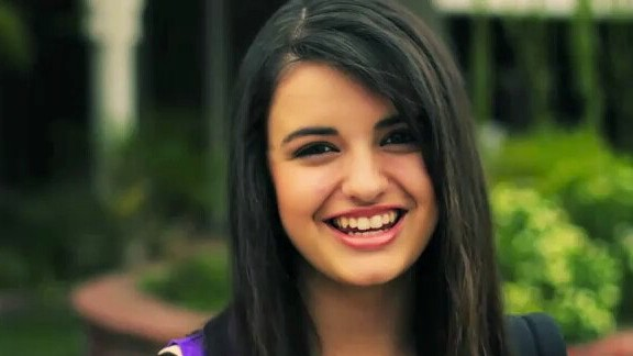 Image shows Rebecca Black smiling.