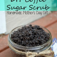Mother's Day: A Coffee Sugar Scrub!