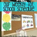 Our Weekly Homeschool Schedule