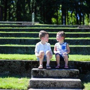Family Day at The Rose Garden: Portland Travel