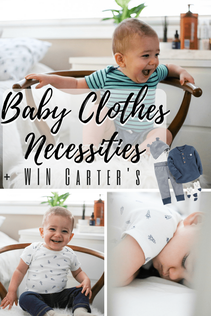 Baby Clothing Necessities | Win With Carter's | Little Baby Basics | Baby Boy Clothes | Neutral Baby Clothes