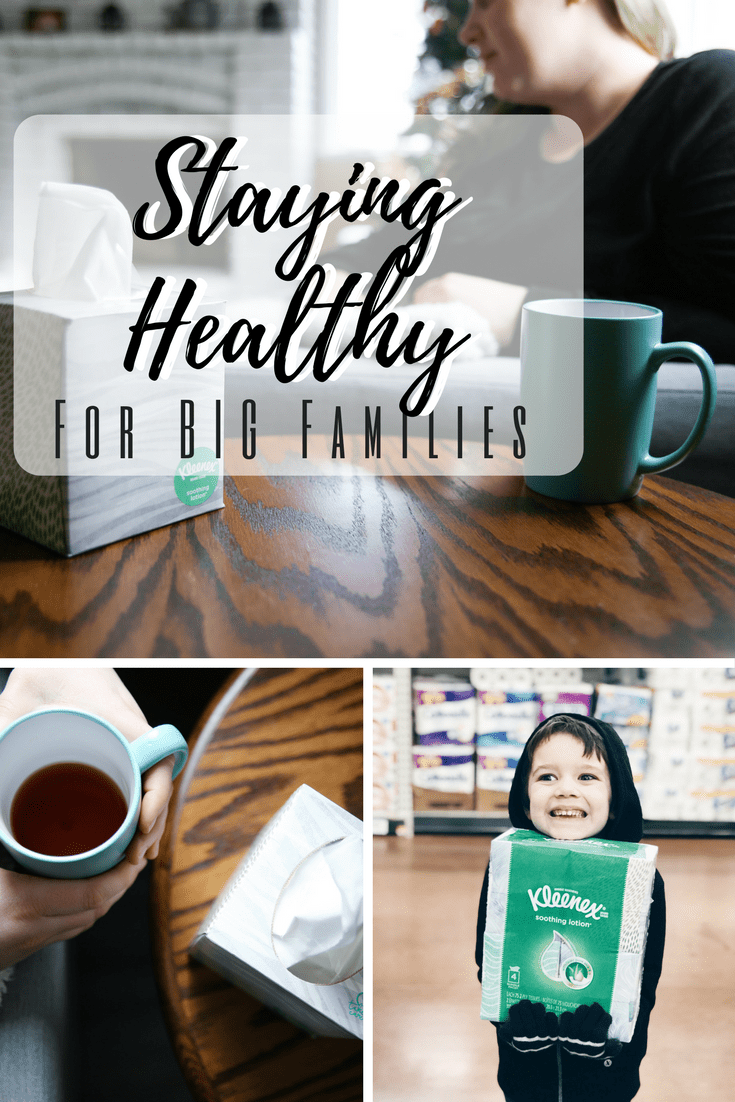Battling Sickness and Allergies as a big family! #ad #takecarewithkleenex @kleenex
