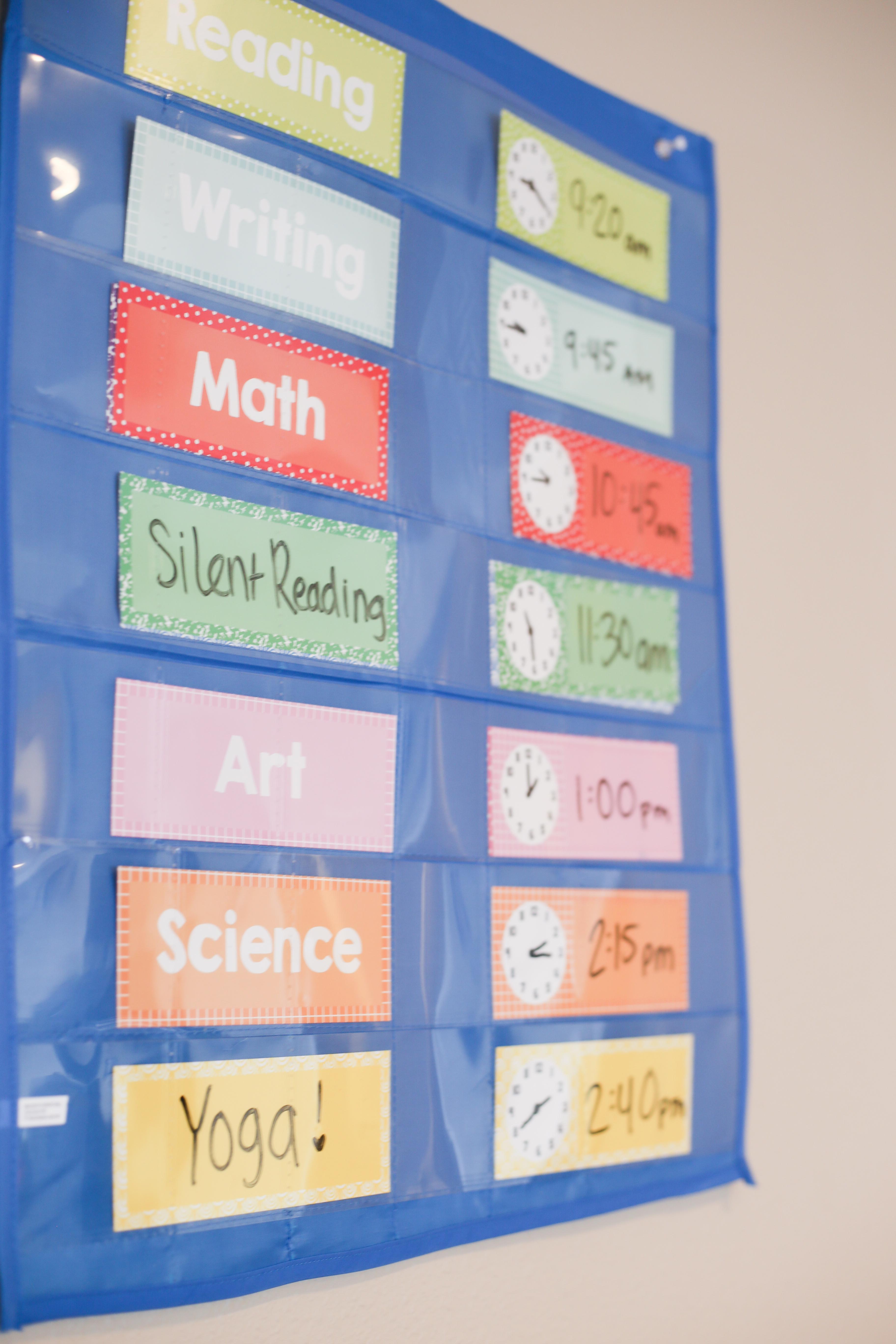 Homeschool Kindergarten Schedule And Curriculum The Ox Mama