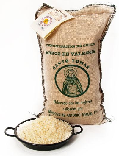 The Paella Company  1Kg Paella Rice  Santo Tomas