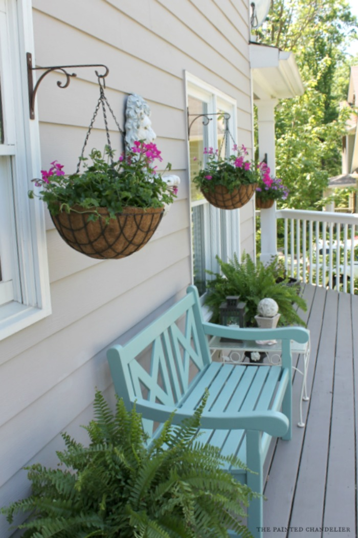 Summer Porch Makeover The Painted Chandelier