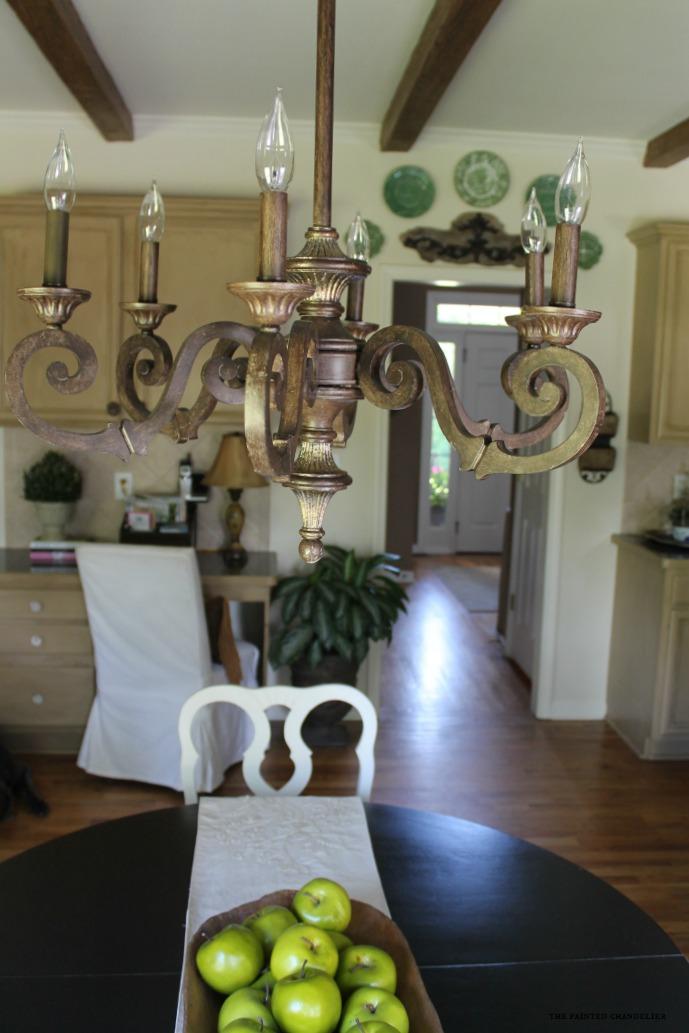 chandelier-into-foyer-az-faux-beams