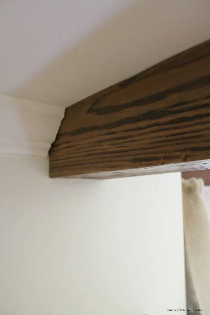 closeup-of-faux-beam-in-crown-molding
