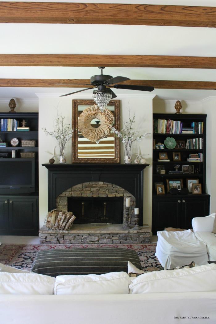 full-shot-chandelier-fan-az-faux-beams-project-family-room