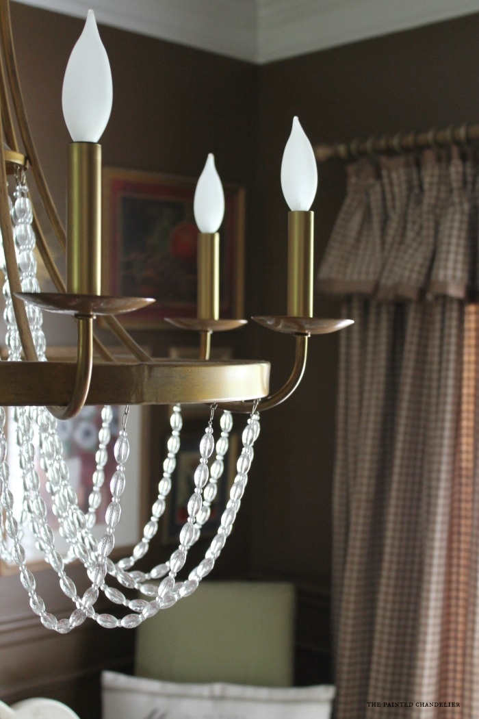 after-new-socket-covers-on-chandelier-dining-room - Lighting Guidelines For Dining Room Spaces