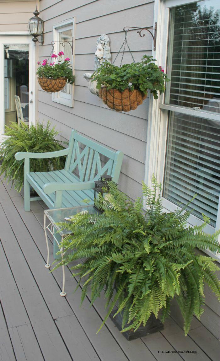 Back Porch Behr Deckover Update