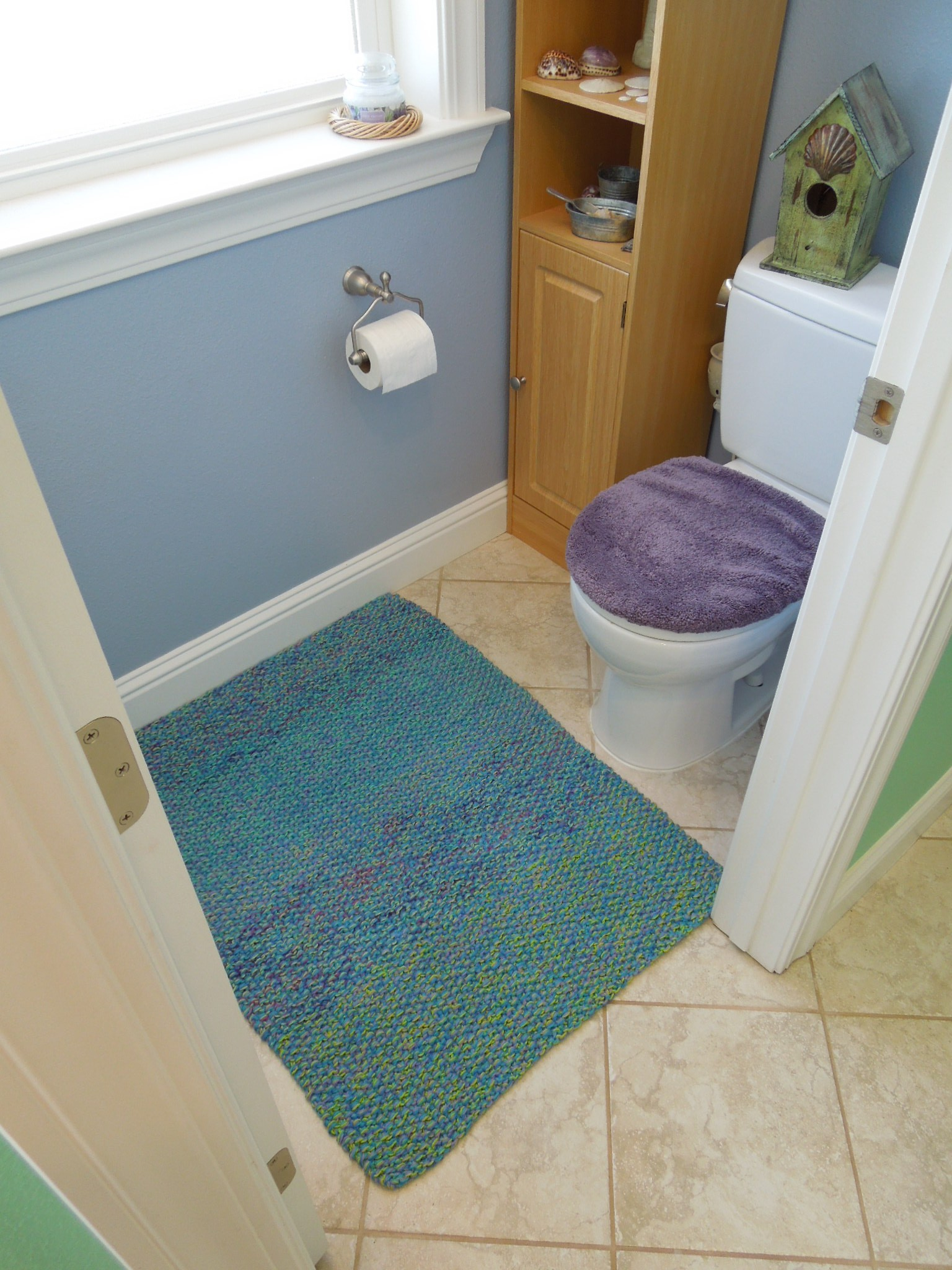 this mat is so soft and comfy on the feet its hard to believe its a bath mat and since its made using absorbent cotton yarn its perfect for the - Cotton Bathroom Mat