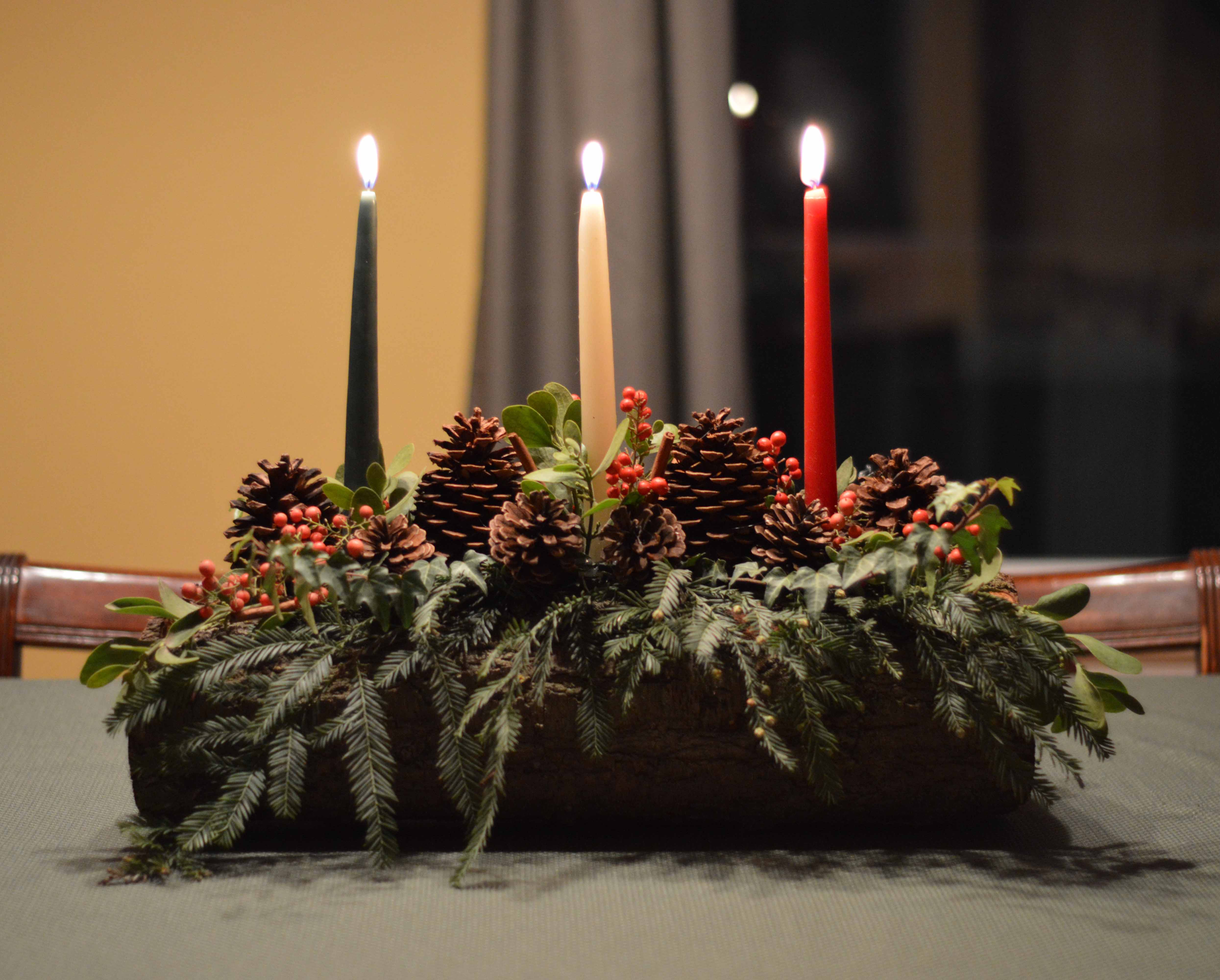 DIY Yule Log TutorialSubscribe to The Painted Hinge's FREE weekly newsletter and never miss a thing!