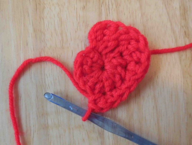 Work the first 3 trc in the same stitch as the slip stitch.