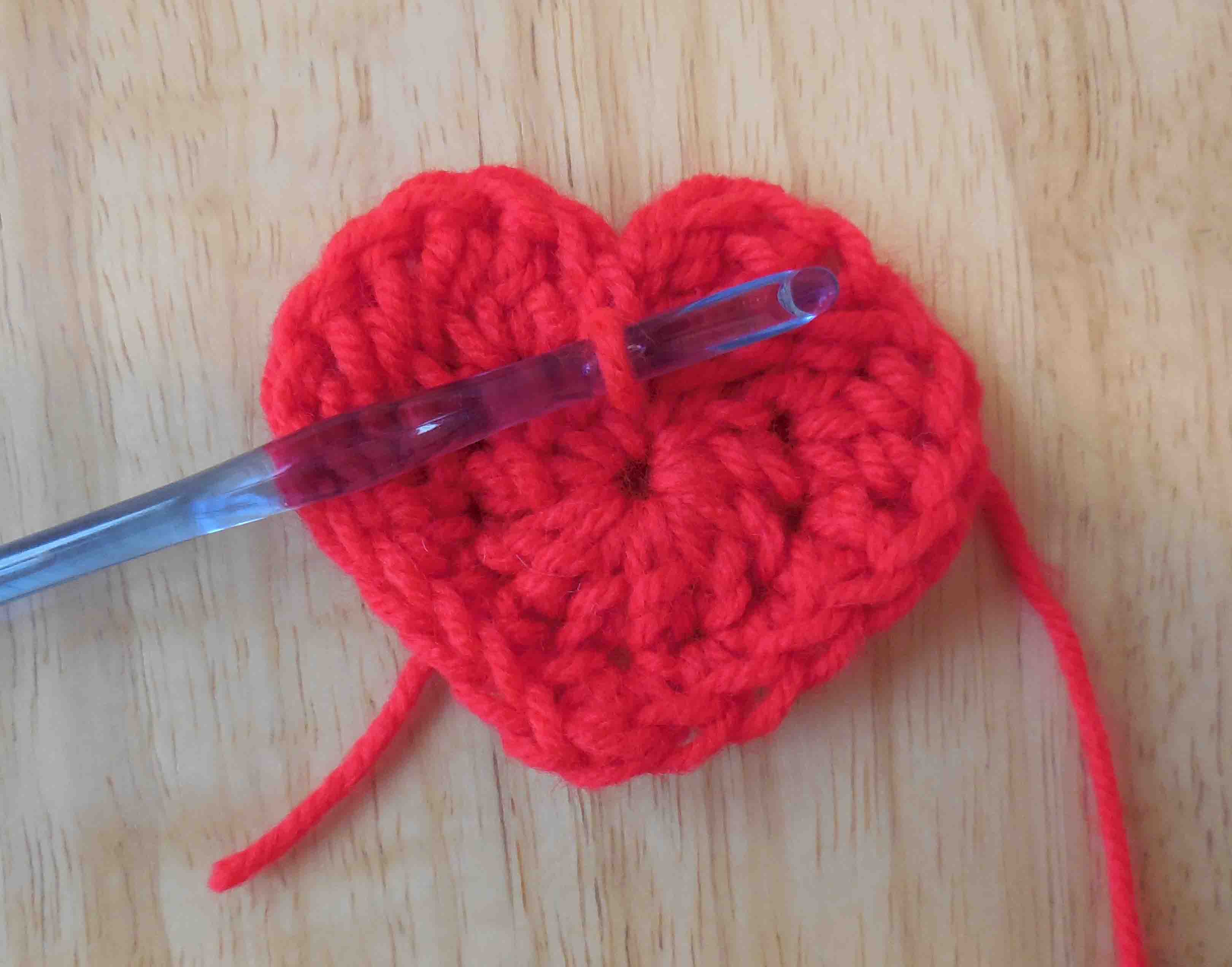 All free crochet heart pattern dancox for the easiest heart crochet pattern ever bankloansurffo Images
