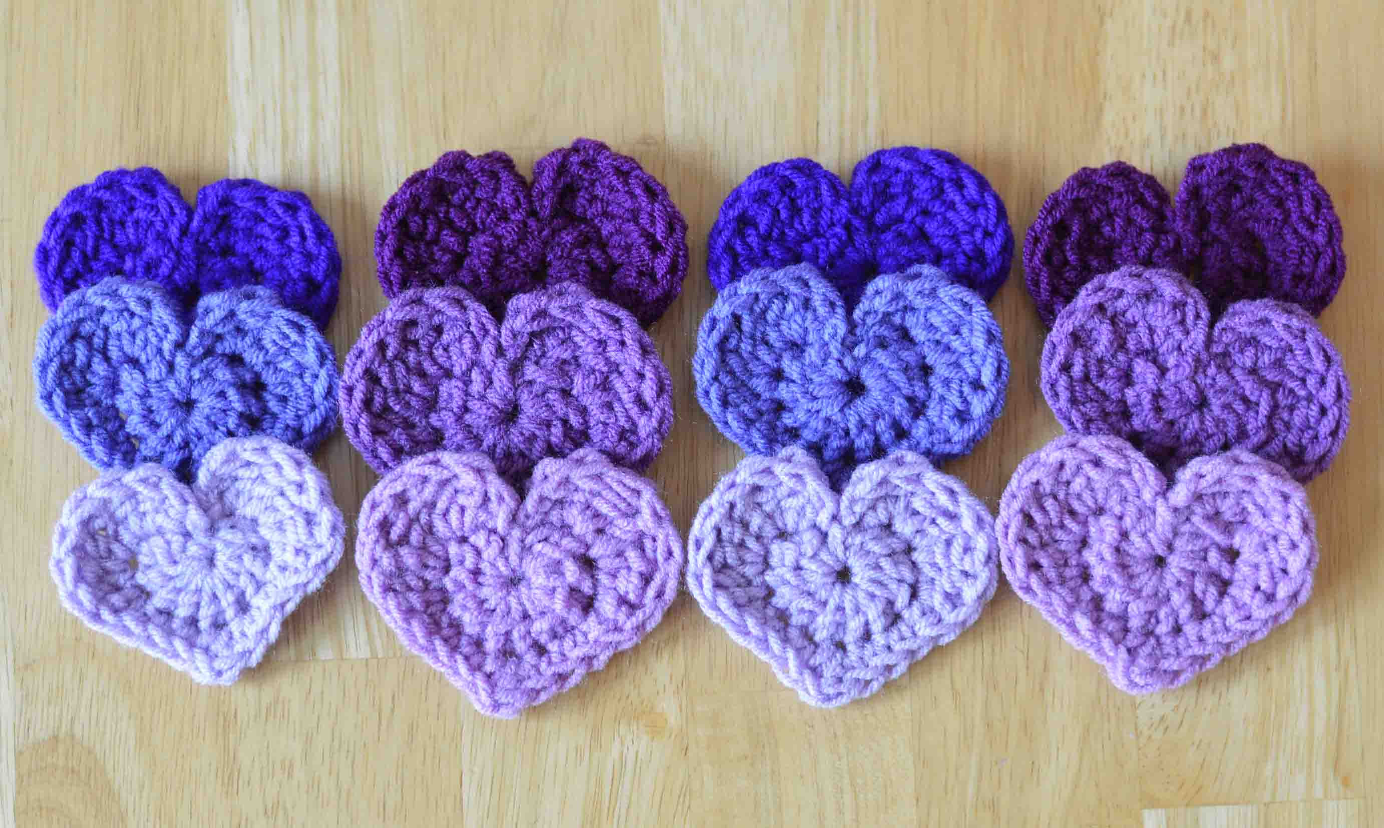 The easiest heart crochet pattern ever ive gotcha covered hearts in 3 sizes free crochet patterns bankloansurffo Images