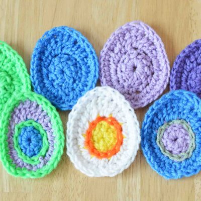 Easiest Crochet Egg Pattern Ever