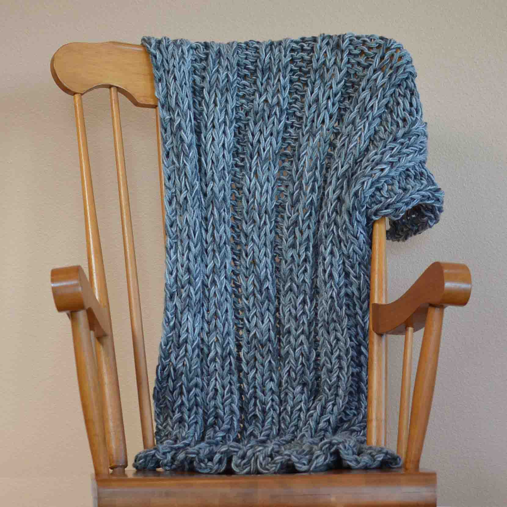 Bulky yarn afghan free knitting pattern lemme know what you think or if you have any questions bankloansurffo Gallery