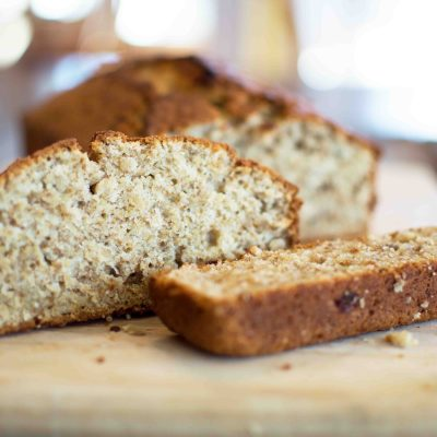 The Best Banana Nut Bread Ever!