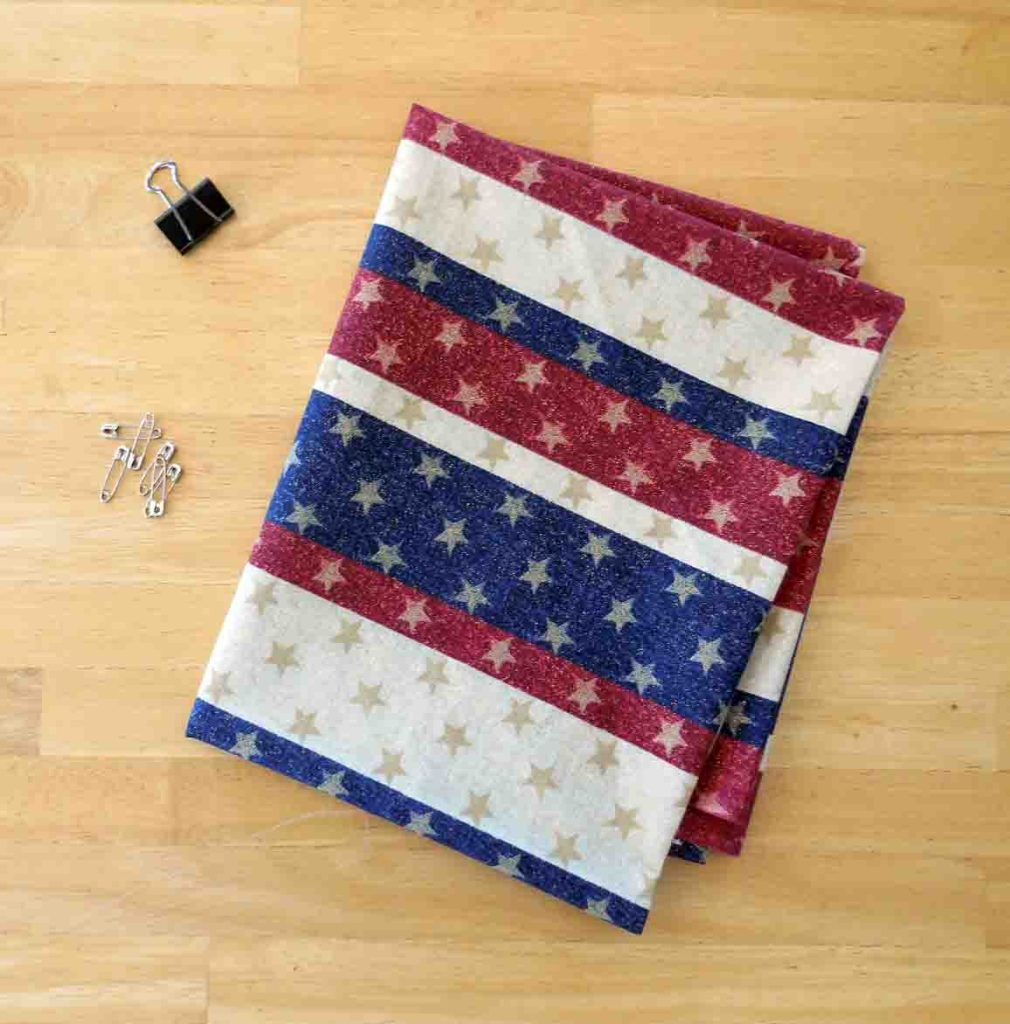 No Sew Patriotic Bunting Tutorial