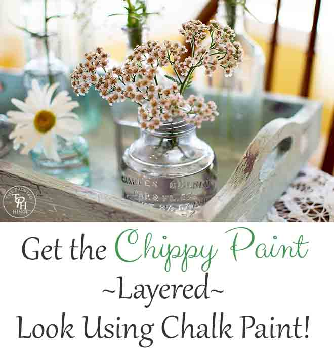 Layered Look With Chalk Paint