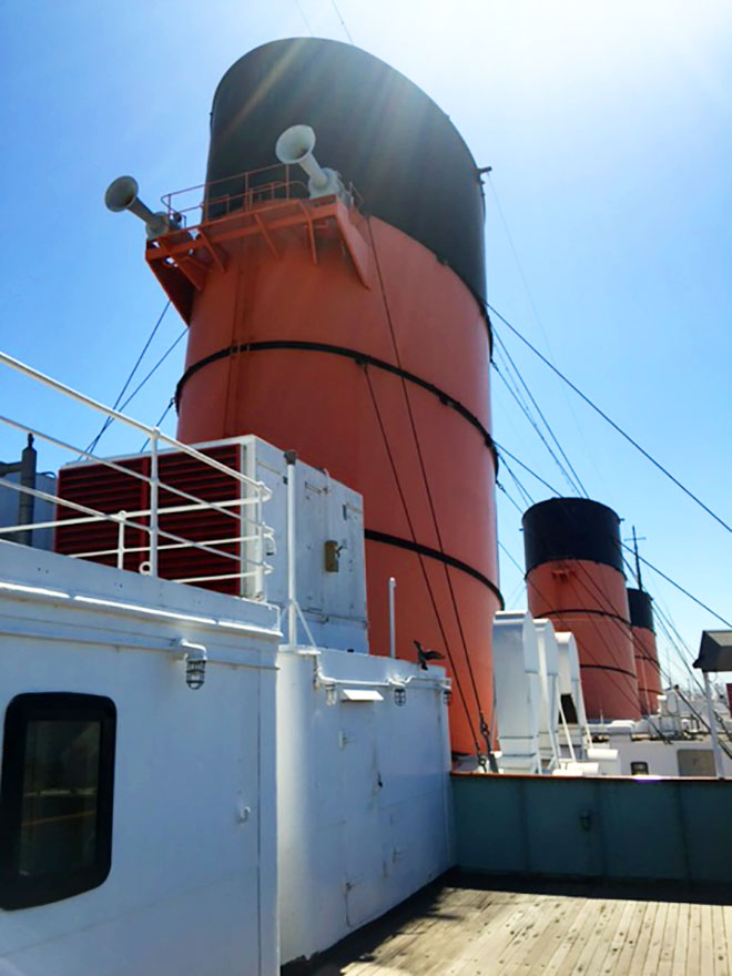 Road Trip! The Queen Mary in Long Beach, CA