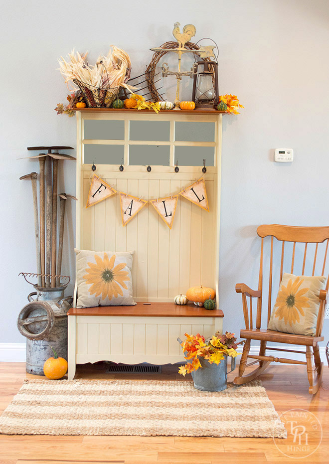 Fall Farmhouse Home Tour 2015 Part 1 - Entryway