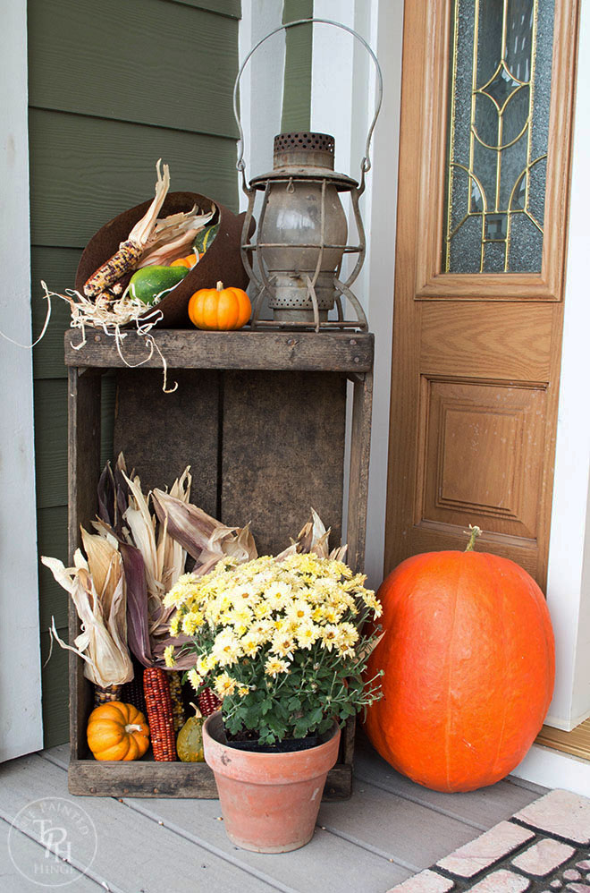 Fall Farmhouse Home Tour 2015 Part 2 - Front Porch