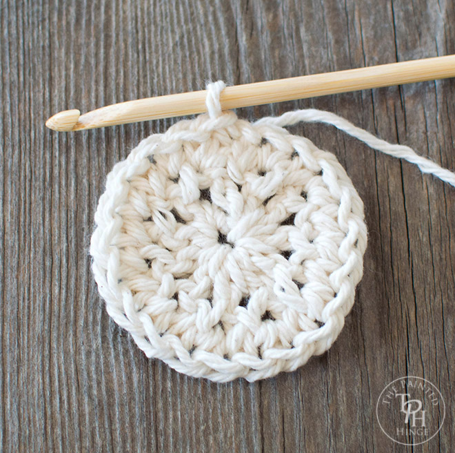 Farmhouse Style Coasters Free Crochet Pattern
