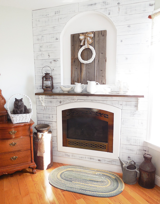 Bedroom Fireplace Makeover