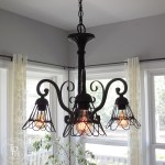 How To Makeover A Chandelier In Farmhouse Style