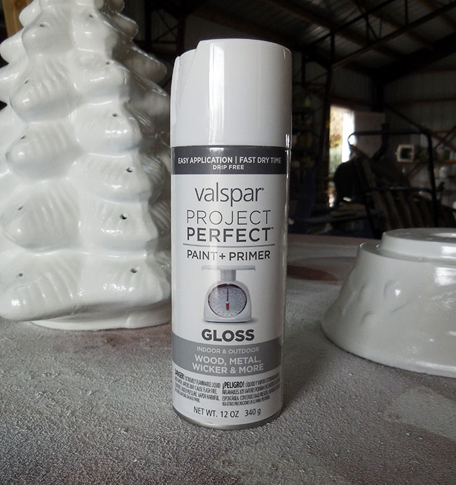 Valspar Project Perfect Spray Paint Plastic