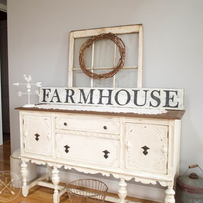 Free Printable Letters To Make A Farmhouse Sign!