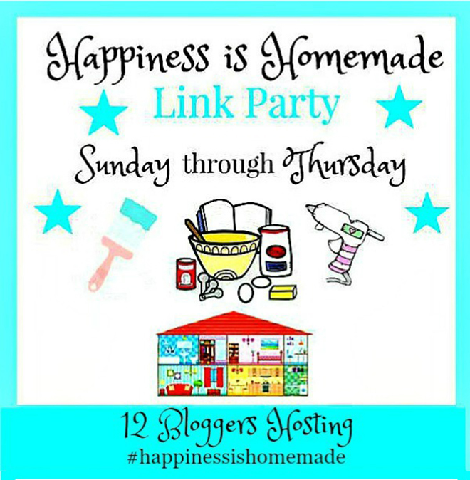 Happiness Is Homemade Link Party #208