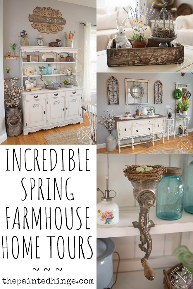 2018 Spring Home Tour and Blog Hop Pinterest