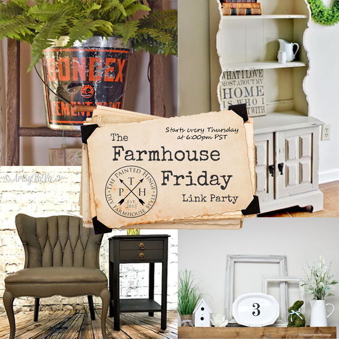 The Farmhouse Friday Link Party #48