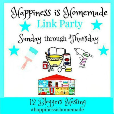 Happiness Is Homemade Link Party #218