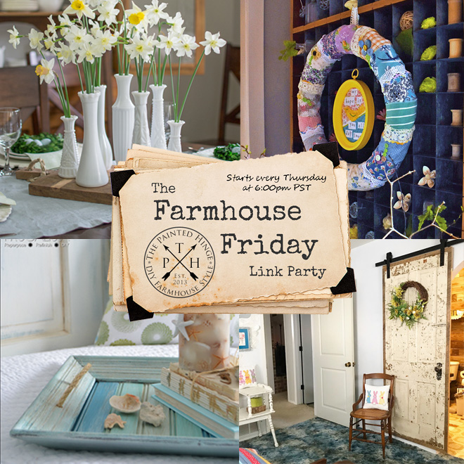 The Farmhouse Friday Link Party #51