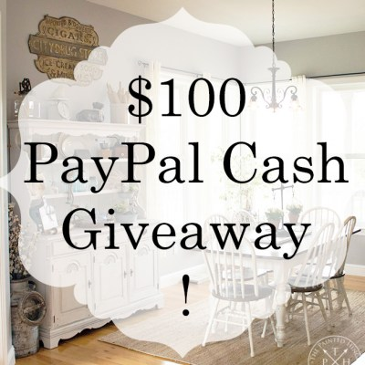 DIY Farmhouse Style $100 PayPal Cash Giveaway!