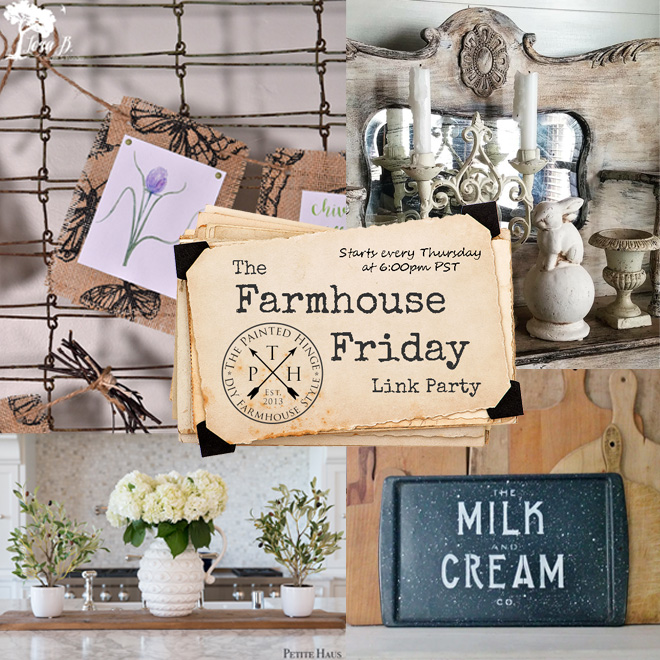 The Farmhouse Friday Link Party #55