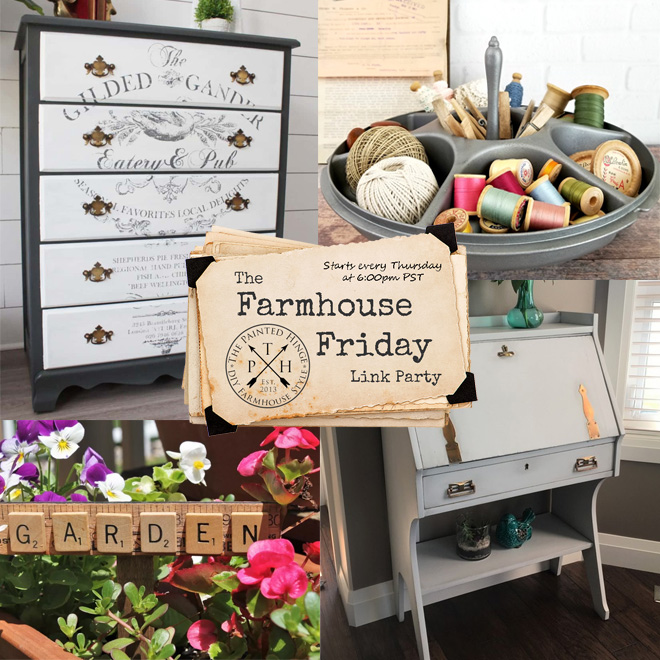The Farmhouse Friday Link Party #66