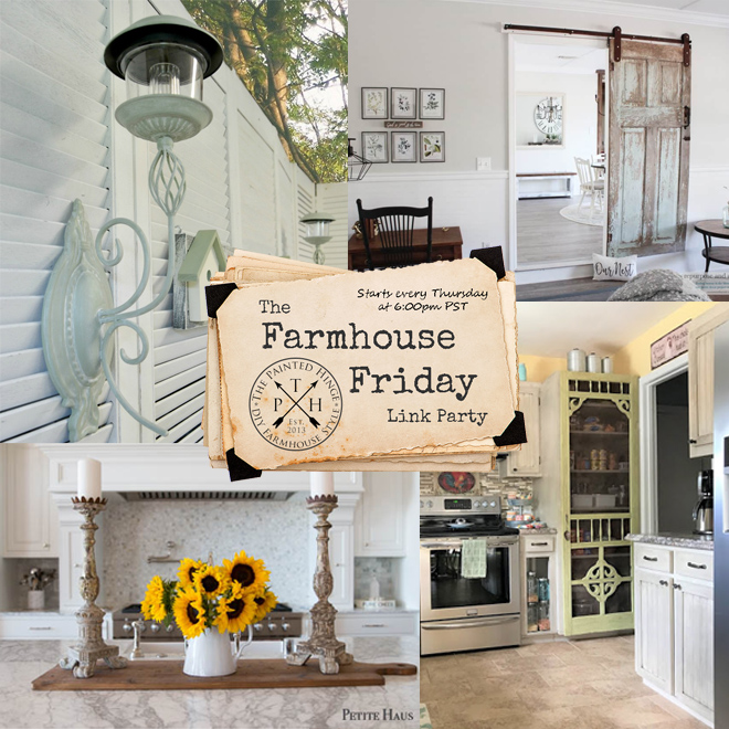 The Farmhouse Friday Link Party #67