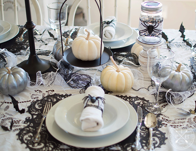 My Very First Halloween Tablescape!